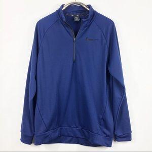 Dri Fit Pullover Nike Blue L